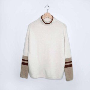 C&C California funnel neck sweater - size Large